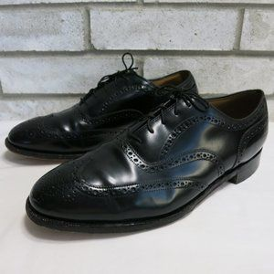 Johnston & Murphy Brogue Leather Dress Oxfords